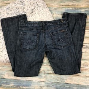 """7 For All Mankind The Lexie Petite """"A"""" Pocket"""